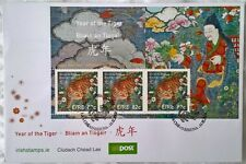 Ireland Stamps, 2 x First Day Covers - Year of the Tiger - 11/2/2010