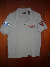 Genuine Harley Davidson Motorcycle Buell STAFF Shirt, Size Medium M Embroidered
