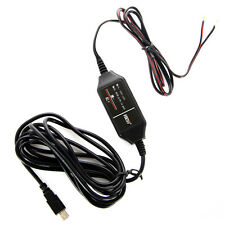 12v to 5v Hard Wire Adapter Cable Mini USB for Car GPS DVR Dash Camera WIN5