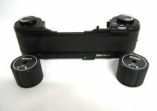 NIKON MF-4 250 Exposure Magazine Back+2x MZ-1 Cassettes for NIKON F3 Camera. -M6
