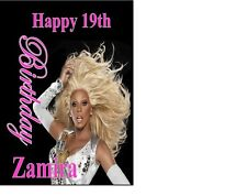 personalised Drag Queen Rupaul Gay Birthday Card