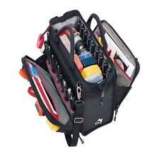 Husky 18 Inch Heavy Duty Nylon Tool Bag Electrician Tech Tools Organizer