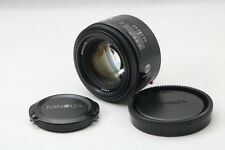 【Excellent】MINOLTA AF 50mm F/1.4 f1.4 Alpha A Mount from Japan 127361