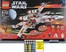 LEGO Star Wars - 6212 X-Wing Starfigher NISB Luke Skywalker R2-D2 Minifigure