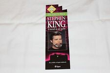 Stephen King Bookmark Promoting  THE GREEN MILE Series