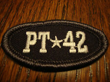 PAT TILLMAN PT 42 PATCH EMBLEM LOGO ARIZONA STATE ASU FOOTBALL BASEBALL JERSEY