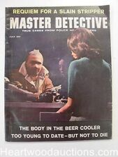"""""""Master Detective"""" July 1963 Robbery Cover"""