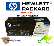 Genuine HP 123A [Q3972A] Magenta Toner New in Box Free Shipping