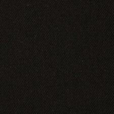 "13 OZ BLACK DENIM JEAN FABRIC 100% COTTON DENIM 68"" BY THE YARD"