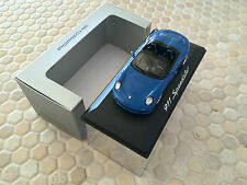 PORSCHE OFFICIAL DEALER 911 997 SPEEDSTER IN BLUE MINICHAMPS 1/43rd NIB 2011