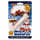Fake Instant Magic Snow Xmas Christmas Wedding Decoration Just Add Water SNOWMAN