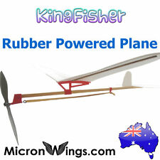 KingFisher Rubber Band Powered Plane / Glider