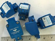 USED LOT OF 8 DOLAN-JENNER LED-PAK IV MODEL # 2500 I/O MODULE,BOXZF