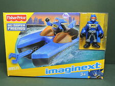 Fisher Price IMAGINEXT W8531 Playset Bat Boat + figurine DC Batman Super-Friends
