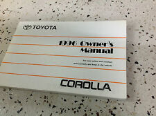 1996 TOYOTA COROLLA Owners Owner Operators Manual FACTORY Book x