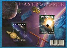 TIMBRES 4353-4354 NEUF XX  LUXE - EUROPA - L'ASTRONOMIE - SATURNE -