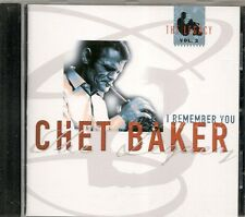 CD ALBUM 5 TITRES--CHET BAKER--I REMEMBER YOU / THE LEGACY COPENHAGEN 1985