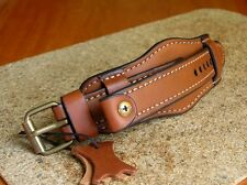 STURMANSKIE WATCH BAND 18mm GENUINE LEATHER CUFF BRACELET STRAP BROWN
