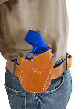NEW BARSONY LEATHER PANCAKE HOLSTER Charter Arms 22 327 38 357 REVOLVER