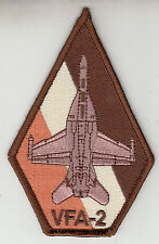 VFA-2 BOUNTY HUNTERS DESERT COFFIN SHOULDER PATCH