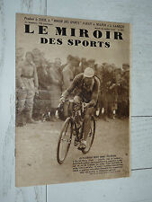 MIROIR SPORTS 1932 N°664 CYCLISME TOUR FRANCE LEDUCQ GALIBIER TENNIS COUPE DAVIS