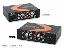 1X3 COMPONENT VIDEO W/AUDIO DISTRIBUTION AMPLIFIER AT-COMP-13AD-b by Atlona
