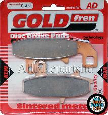 Suzuki DR 750 Front Sintered Brake Pads 1988 Onwards - Goldfren - DR750 DR-750