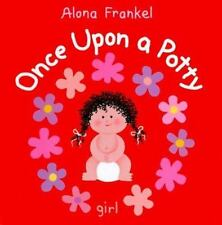 Once Upon a Potty Girl Alona Frankel Hard Cover Potty Training