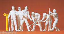 Preiser 45182 Gleisbauarbeiter. 6 unbemalte Figuren für LGB, 1:22,5