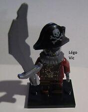 Légo 71010 Minifig Figurine Série 14 Zombie Pirate n°2 + socle