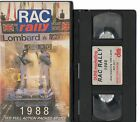1988 LOMBARD RAC RALLY ROUND 13 + ACTION FROM 1000 LAKES RALLY VHS VIDEO