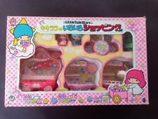 Sanrio Little Twin Stars Kiki & Lala Vintage Market Playset 1976, Japan