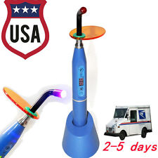 5W 1500mw Wireless Cordless Dental LED Curing Light Lamp 5s-40s Blue-USA seller