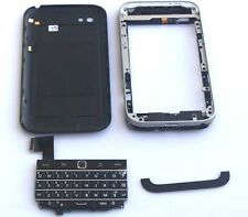 New Battery Cover/Middle-frame/Keypad For Blackberry Q20 Full Housing Black