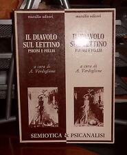 ESOTERISMO: IL DIAVOLO SUL LETTINO PSICOSI E FOLLIA (SEMIOTICA) Prima edizione