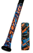 VULCAN ADVANCED POLYMER BAT GRIPS - STANDARD 1.75 MM - FIRE & ICE