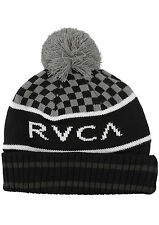 RVCA - STADIUM Mens Beanie (NEW) Black VA Winter Hat BEENIE Cap : FREE SHIPPING