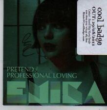 (BZ852) Emika, Pretend / Professional Loving - 2011 DJ CD