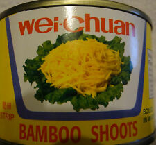 WEI CHUAN STRIP BAMBOO SHOOTS IN WATER CANNED FOOD COOKING DISH