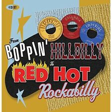 FROM BOPPIN HILLBILLY TO RED HOT ROCKABILLY - ELVIS PRESLEY, SID KING 4 CD NEU