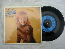 LULU SHOUT / FORGET MY BABY decca / shout 1 re-issue p/s  pop '60's 45 rpm