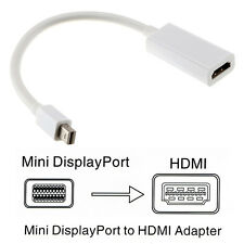 Thunderbolt Mini Display Port DP to HDMI Cable Adapter for Apple Macbook & iMac