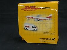 SCHUCO 3557382, BOEING 757 & MERCEDES-BENZ SPRINTER, DHL 2 PIECE SET