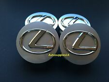 NEW (4 PCS) LEXUS WHEEL CENTER HUB CAP ES300 IS300 IS250 IS350 ES300 ES330 RX330
