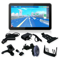 7 Inch Portable GPS Navigation Systems Units 8GB SAT Vehicle Navigator Free Map