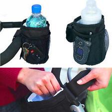 Pram Buggy Stroller Insulated Cup Holder Drink Bottle Holder Baby Pushchair Bag