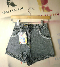 Crystal Damen kurze Jeans Shorts blackstone hotpants TRUE VINTAGE blackhot perl