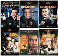 SEAN CONNERY JAMES BOND Film DVD Collection All Movies New Sealed