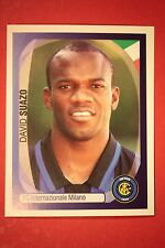 PANINI CHAMPIONS LEAGUE 2007/08 N. 176 SUAZO INTER WITH BLACK BACK MINT!!