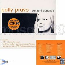 PATTY PRAVO BOX 2CD con INEDITI + 1DVD - FUORI CATALOGO